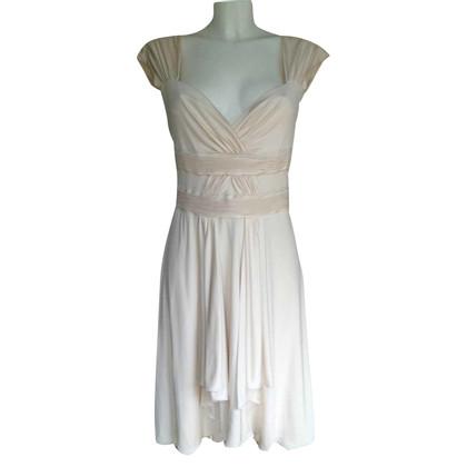Valentino Cream colored silk dress