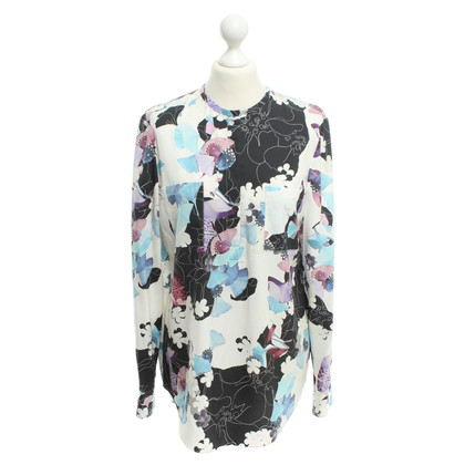 Phillip Lim Silk blouse with floral print