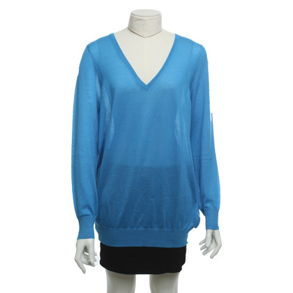 Malo Cashmere sweater in blue
