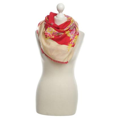 Salvatore Ferragamo Schal mit floralem Muster