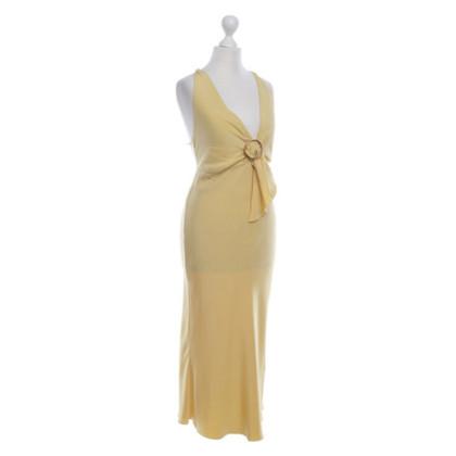 Prada Yellow silk dress