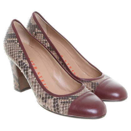 Walter Steiger Pumps snake leather
