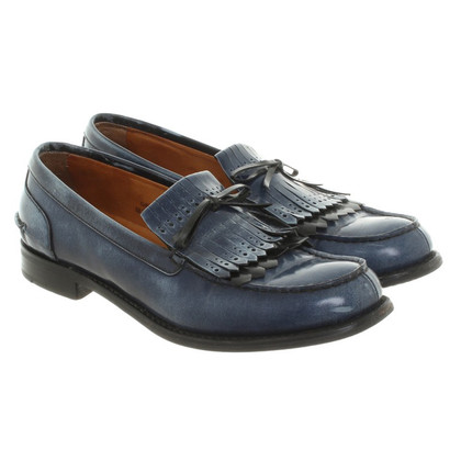Church's Slipper in blue