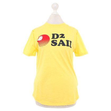 Dsquared2 T-shirt in yellow