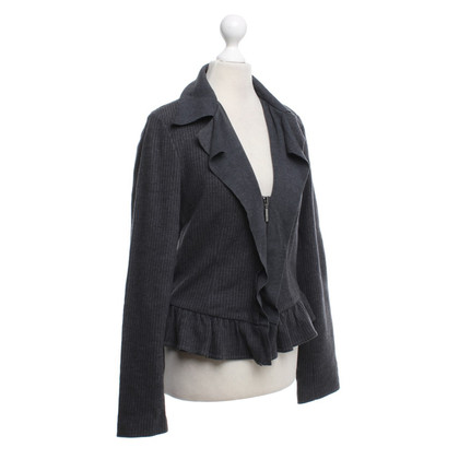 Giorgio Armani Wool jacket in grey