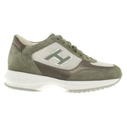 Hogan Sneakers in verde