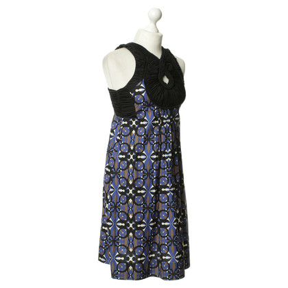 Hoss Intropia Patterned dress with Ruffles