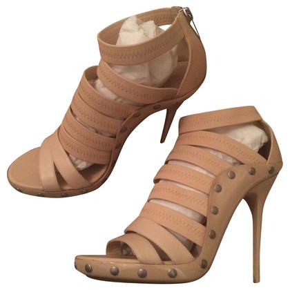 Jimmy Choo Aston Bended high heel Sandals nude