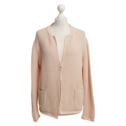Fabiana Filippi Salmon-colored cardigan