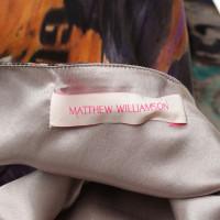 Matthew Williamson Seidenkleid mit Muster