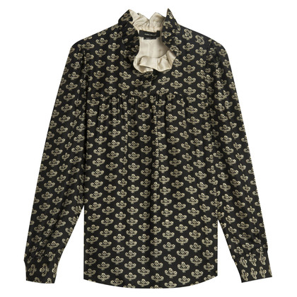 Isabel Marant Silk blouse with collar