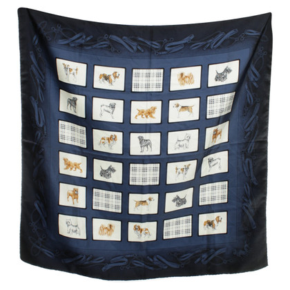 Burberry Cloth with dogs motif