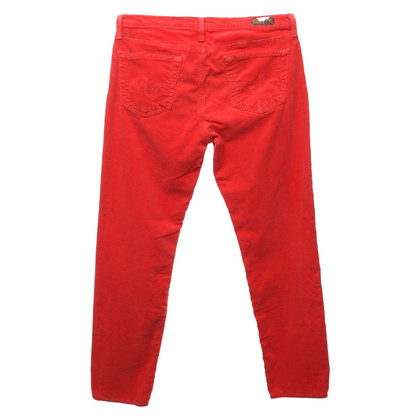 Adriano Goldschmied Corduroy pants in red