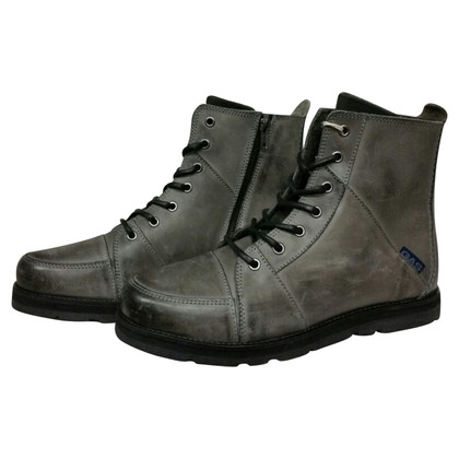 Gas Ankle Boots in Gray