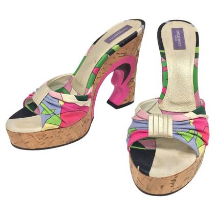 Emilio Pucci Sandals with cork sole