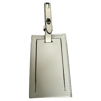 Karl Lagerfeld suitcase pendant white
