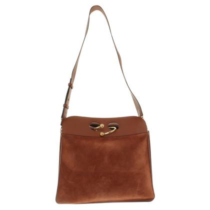 J.W. Anderson sac à main en cuir marron