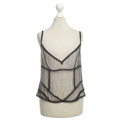 Ralph Lauren Zijden top met beaded trim