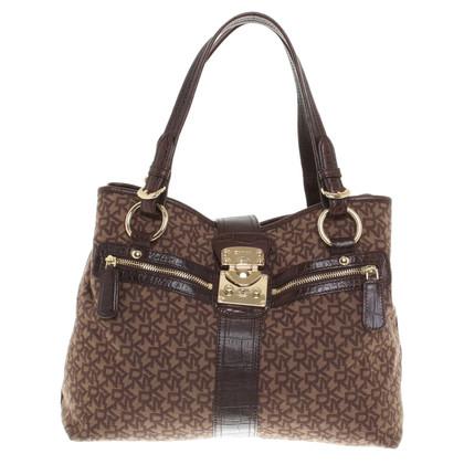 Donna Karan Handtasche in Braun