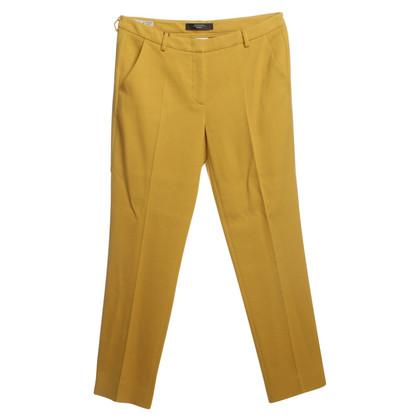 Max Mara Pants in mustard-yellow
