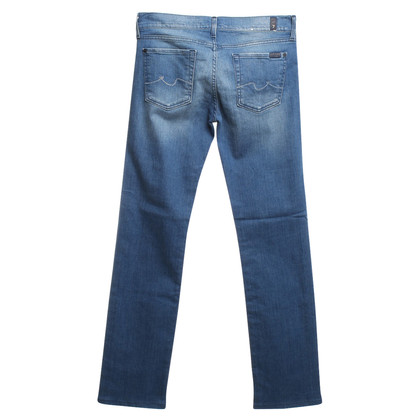 7 For All Mankind Jeans with gemstone trim