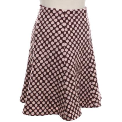 Hobbs skirt with pattern