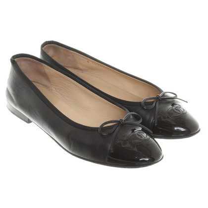 Chanel Ballerinas Leather