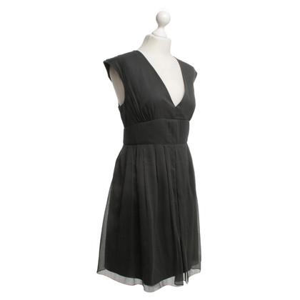 J. Crew zijden jurk in Gray