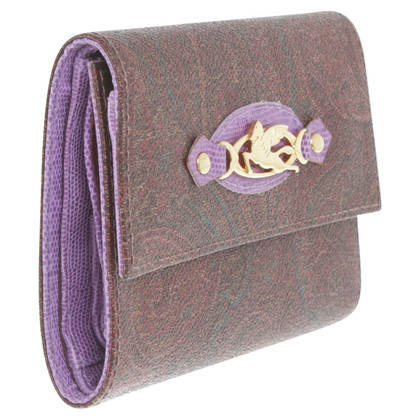 Etro Wallet with pattern