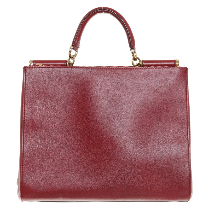 amp; Shopper In Handdolce Het Gabbanasicily Rood Second Dolce p6wxdRqZvp