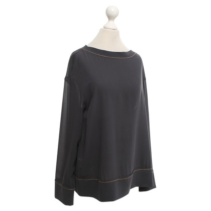 Brunello Cucinelli Blouse in grijs