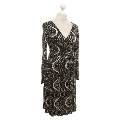 Allude Dress with pattern