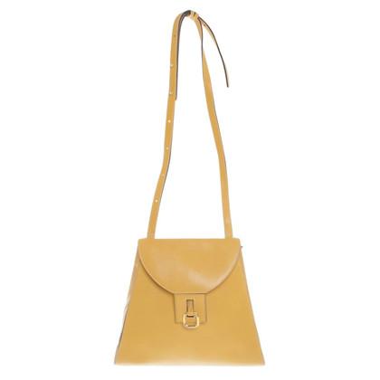 Delvaux Shoulder bag in mustard yellow