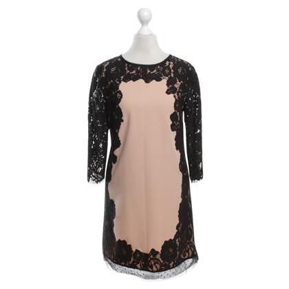 Twin-Set Simona Barbieri Dress with lace trim