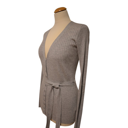 Strenesse Blue Fine cardigan with tie belt