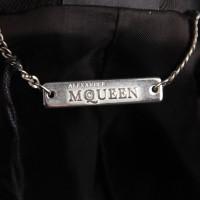 Alexander McQueen Satin blazer