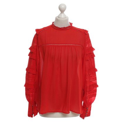Isabel Marant Silk blouse with elastane content