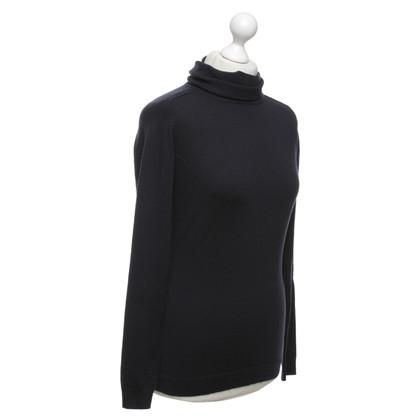 Hoss Intropia Sweater in dark blue