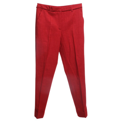 Hugo Boss Broek in Red