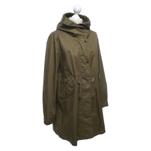 save off 5a0b1 fa20e Woolrich Jacke/Mantel aus Baumwolle in Oliv - Second Hand ...