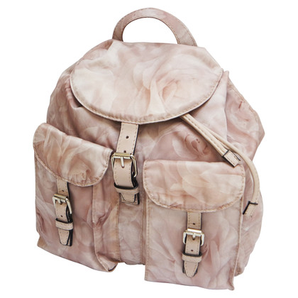 Valentino Backpack with floral pattern