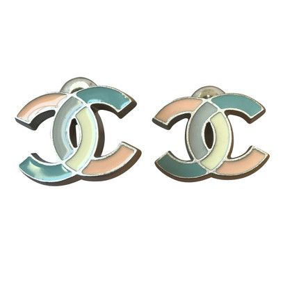 Chanel CC clips in pastel