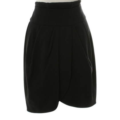Schumacher skirt in black