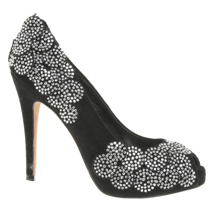 Karen Millen Plateau-pumps with jewelry