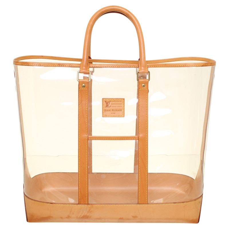 Louis Vuitton Transparent beach bag - Buy Second hand Louis ...
