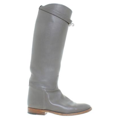 Hermès Stivali in grigio