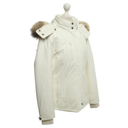Woolrich Giacca con pelliccia di procione