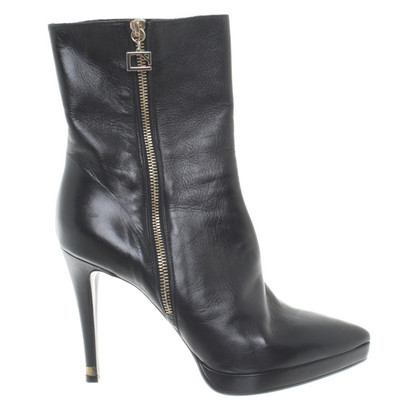 Other Designer Atos Lombardini - leather ankle boots in black