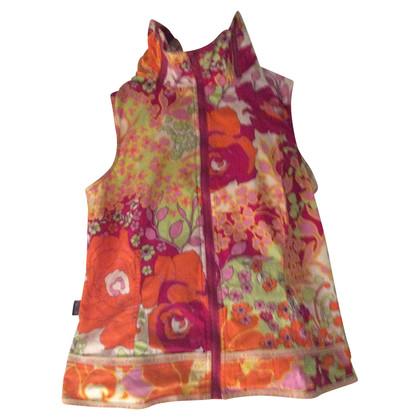 Moschino Jeansanzug mit floralem Muster