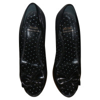 Moschino Cheap and Chic Peep-orteils en noir